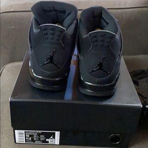 Air Jordan 4 Retro Black/Black